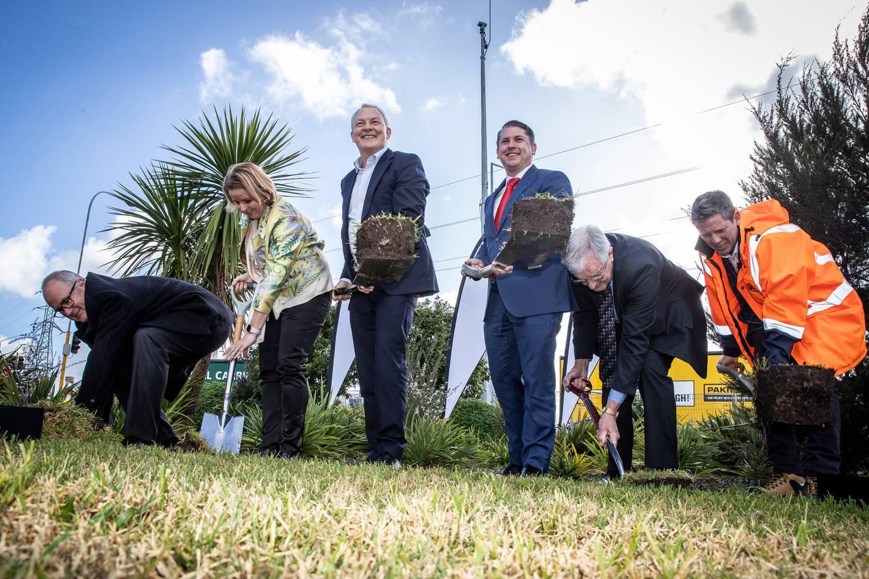 Transport Minister Michael Wood has announced a billion-dollar transport plan. Photo / Michael Craig