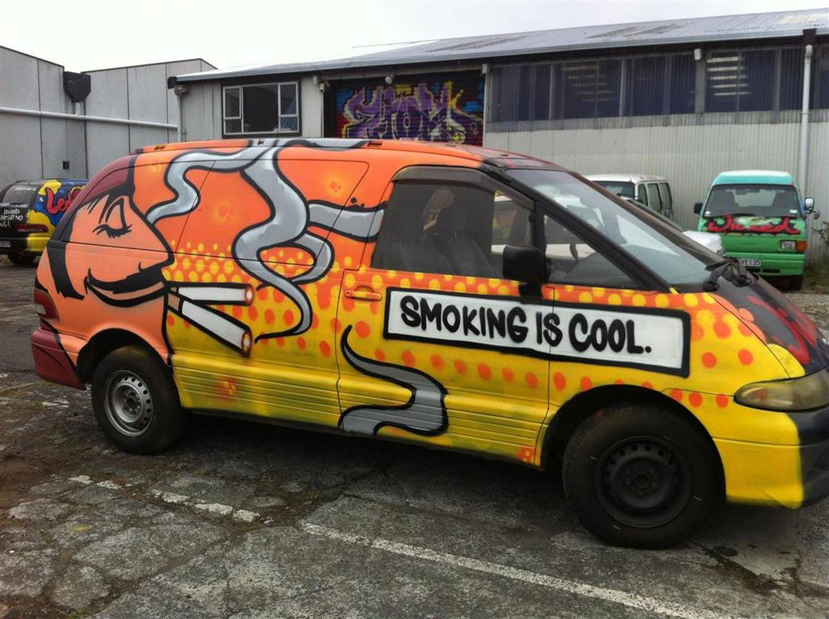 5c3c9210fc Wicked Campers - 100% offensive - NZ Herald