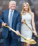 President Donald Trump and his daughter Ivanka.