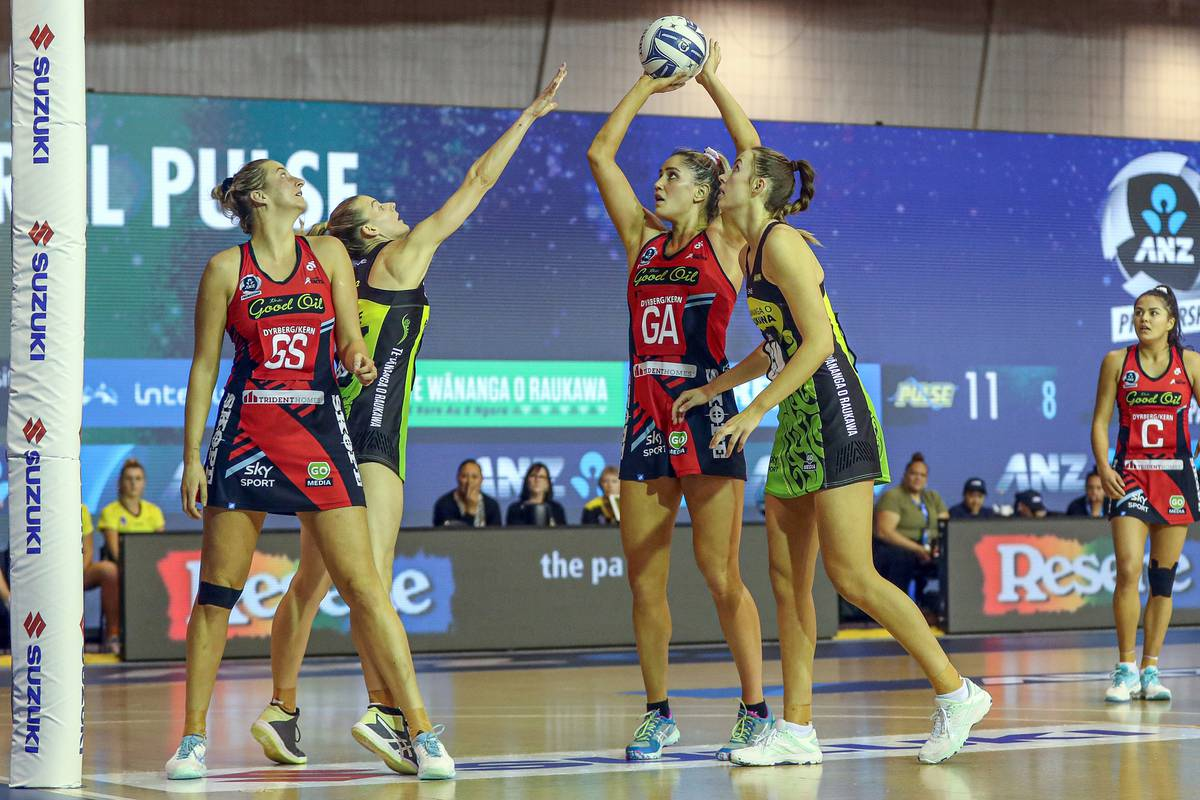 Netball: Mainland Tactix fall milliseconds short of draw against Central Pulse in ANZ Premiership heartbreaker