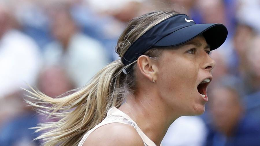 Maria Sharapova hits back to stake her US Open title claim