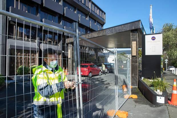 A quarantine facility in Wellington. Photo / Mark Mitchell