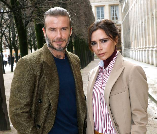 David Beckham and his wife Victoria Beckham are
