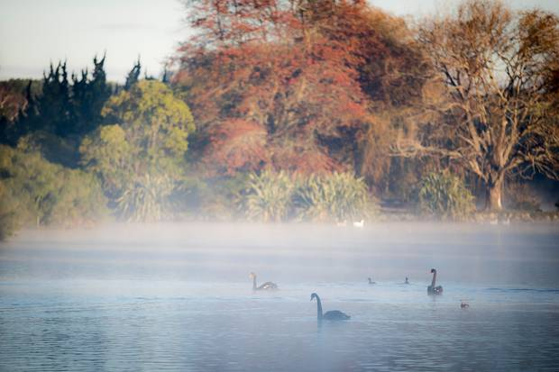 Western Springs Lake. Photo / Michael Craig.