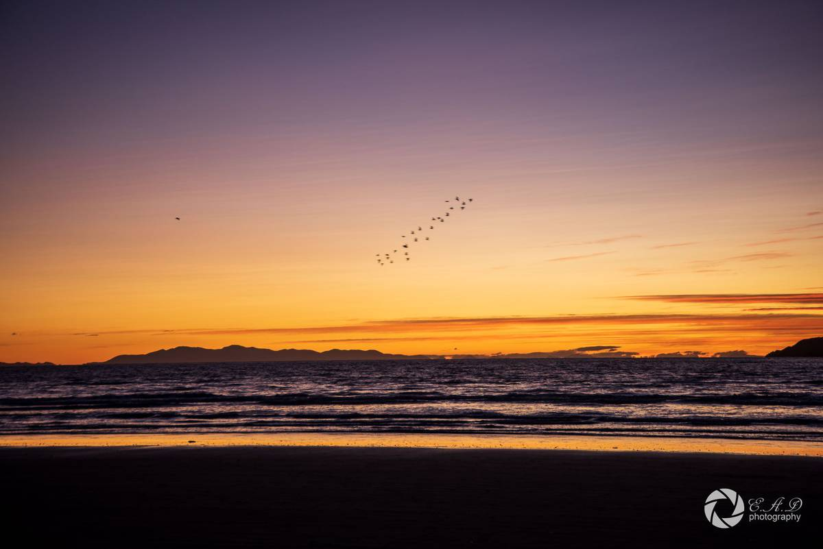 Sharing the joy: Photographer captures sunsets for people to enjoy during lockdown