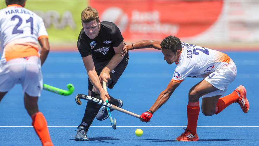 Indian men's hockey team loses to Belgium