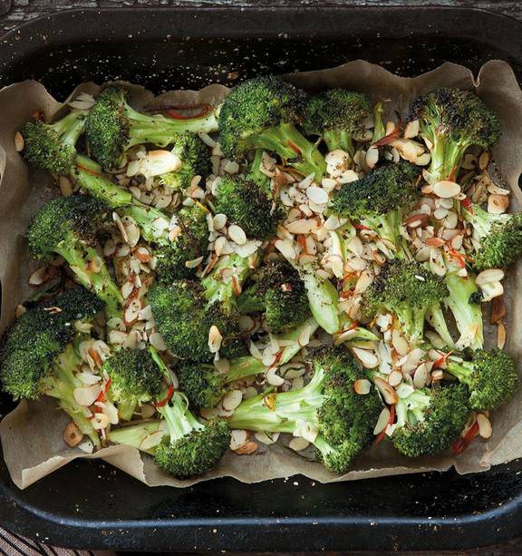 Roasted Broccoli With Almonds Nz Herald