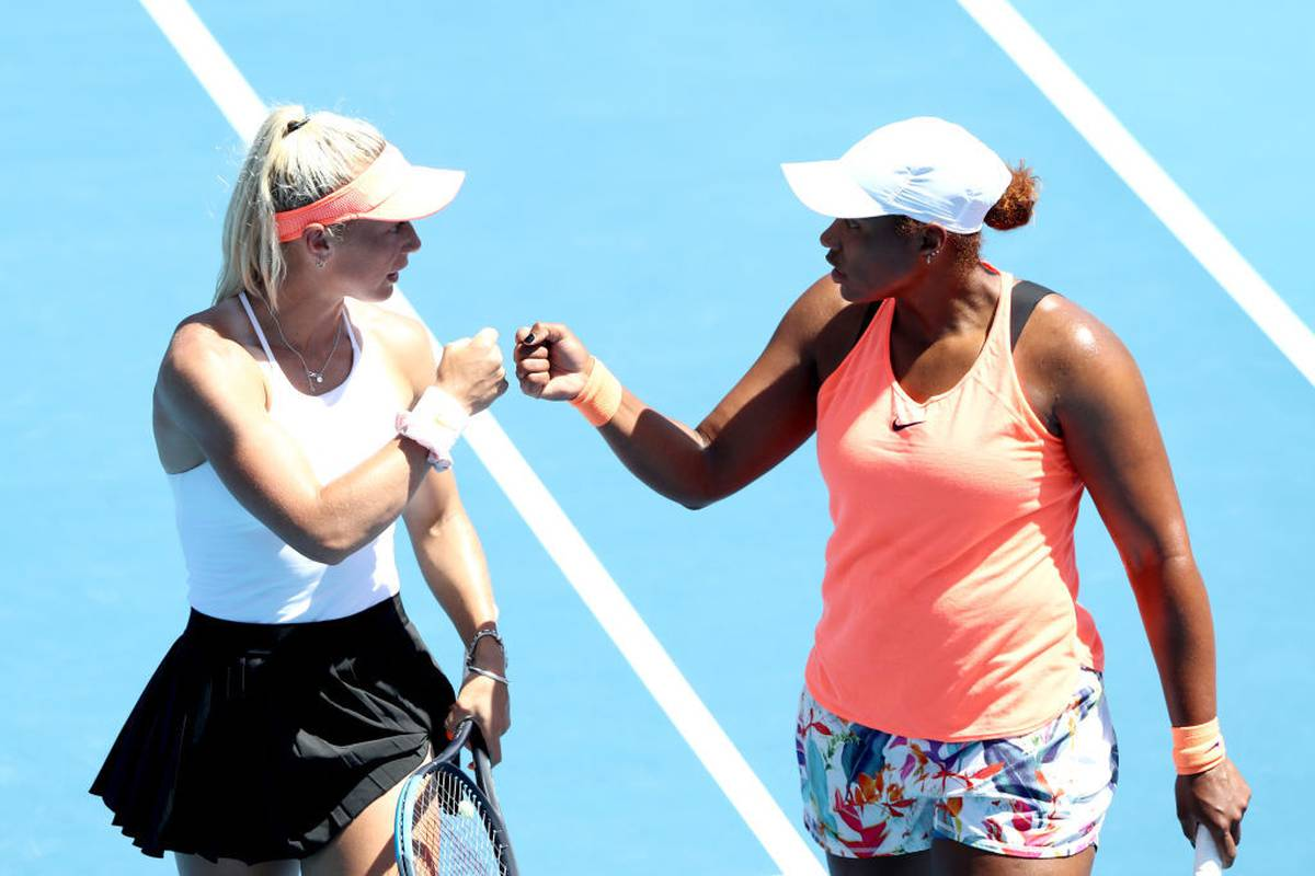 Tennis Paige Hourigan From New Zealand Bets On The Asb Classic