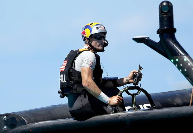 Jimmy Spithill was the former Oracle Team USA skipper. Photo / Getty