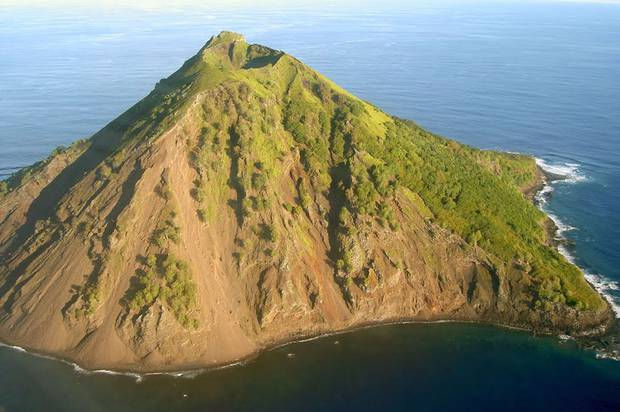 Mehetia is a volcanic island about 100km southeast of Tahiti in what is now French Polynesia. Photo / Tahiti Heritage