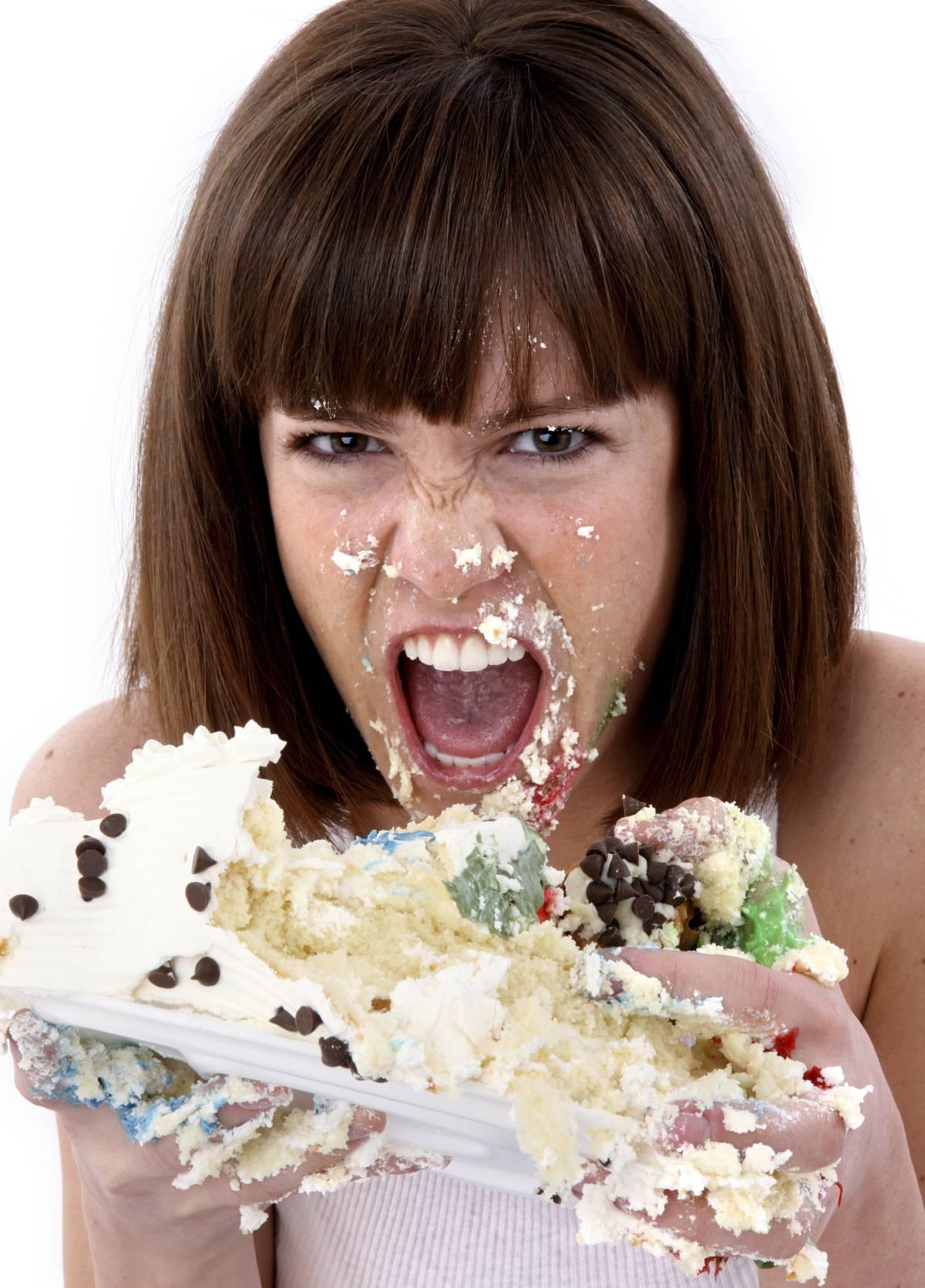 Лицом в торт картинки девушка