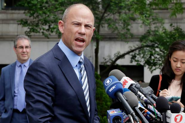 Michael Avenatti, attorney for porn actress Stormy Daniels. Photo / AP