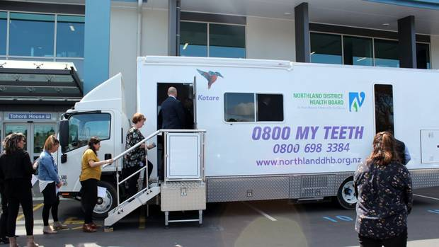 Northland DHB's latest mobile dental unit (MDU) was officially named Kotare and is ready to hit the road.