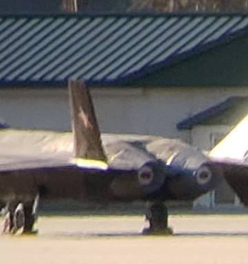 Image of replica high-tech China jet fighter J-20 'Mighty