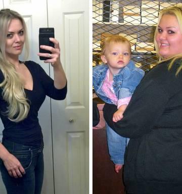 Mum drops 67kg, ditches cruel partner and finds new love - NZ Herald