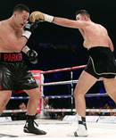 WBO Heavyweight Title defence - Joseph Parker v Hughie Fury. Photoport.co.nz