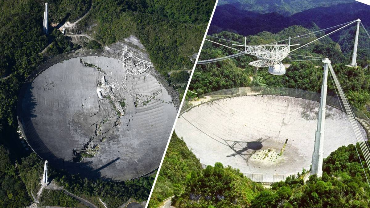 Large, derelict area observatory collapses in Puerto Rico – NZ Herald