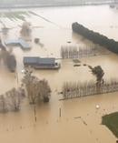Flooding on Dukes Road near Mosgiel Dunedin. Picture / Otago Daily Times