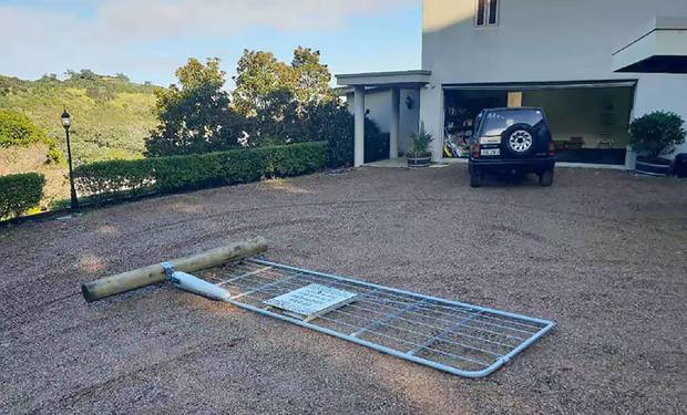 Neighbours are at war over a gate one owner installed without the other's permission. Photo / Gary Thomason