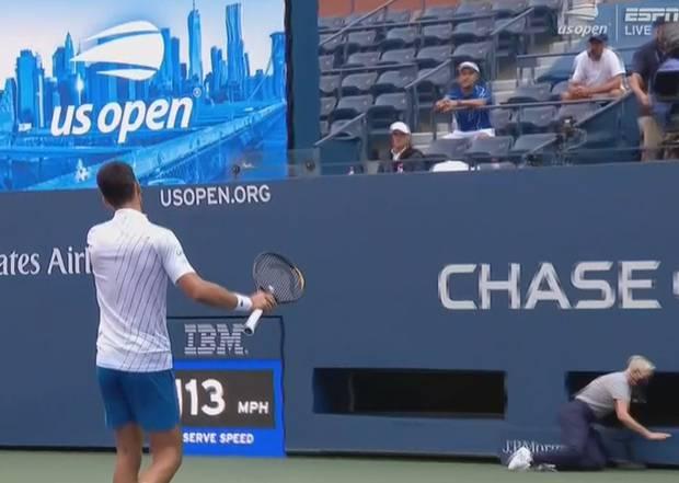 Novak Djokovic Sensationally Kicked Out Of Us Open For Hitting Linesperson