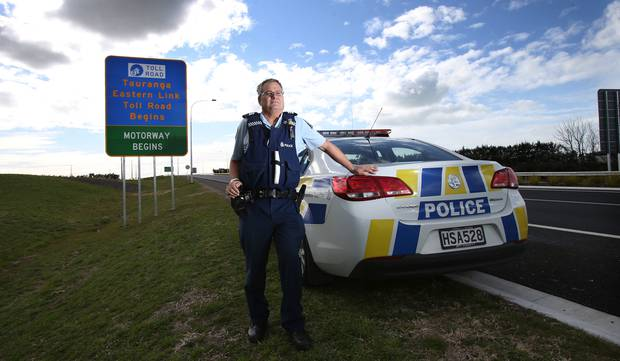 Acting head of Western Bay of Plenty road policing Sergeant Wayne Hunter has helped pull the pin on a boy racer network gathering in rural locations, creating chaos for residents. Photo/file