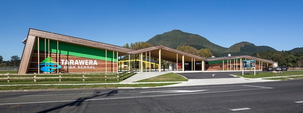 Kawerau's Tarawera High School has earned a commendation for its learning environment. Photo/Patrick Reynolds