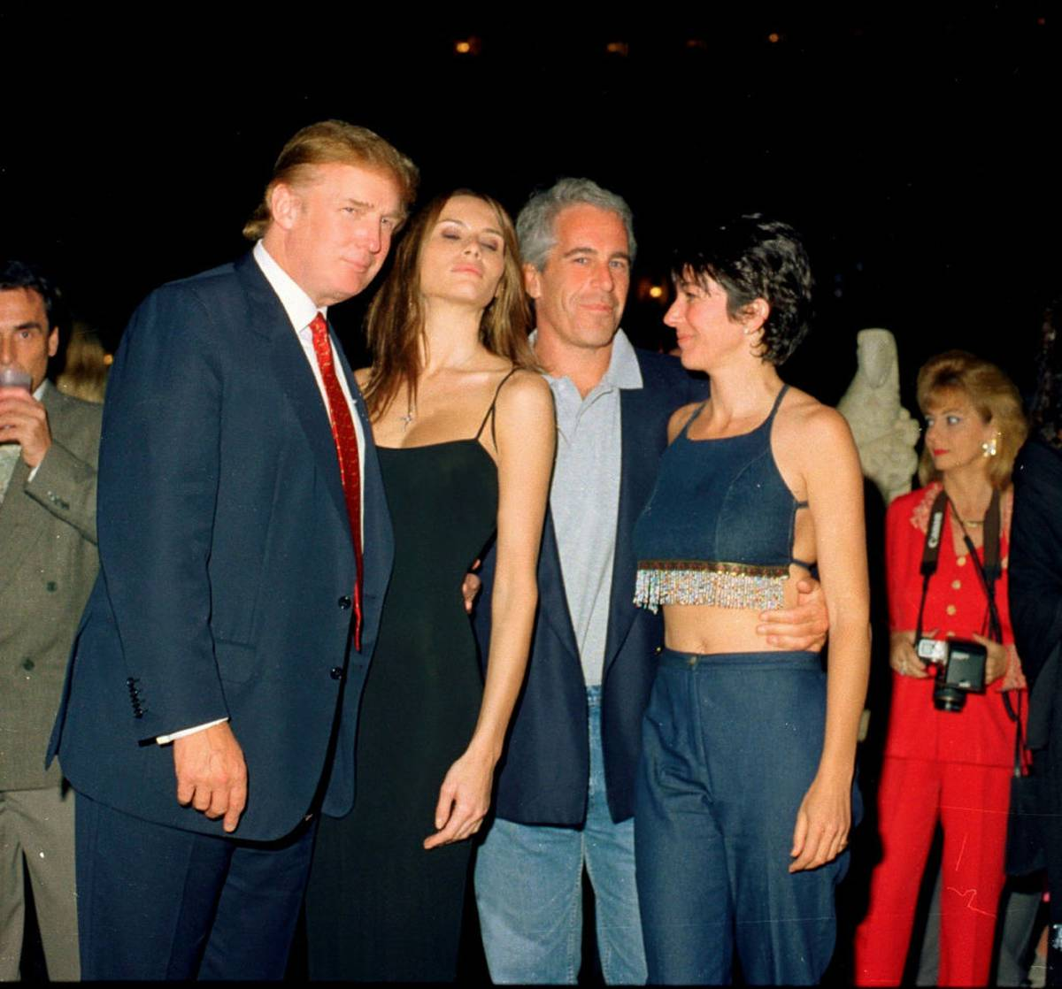 Fox News 'mistakenly' cropped Donald Trump out of Jeffrey Epstein, Ghislaine Maxwell photo