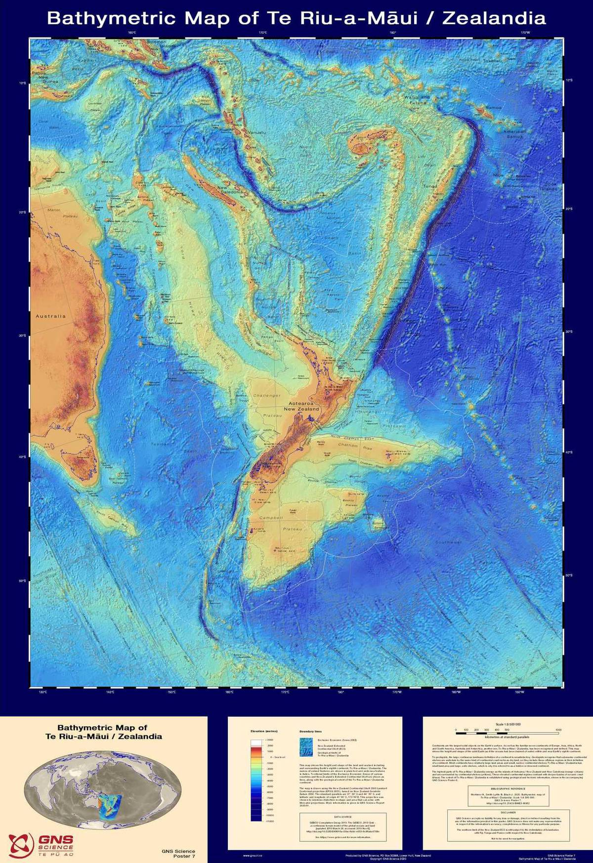 Our lost continent Zealandia - as never seen before