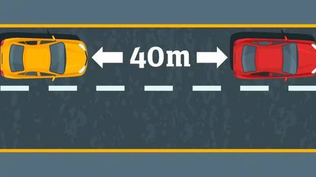Forty metres between cars could get everyone to where they're going faster. Image / news.com.au
