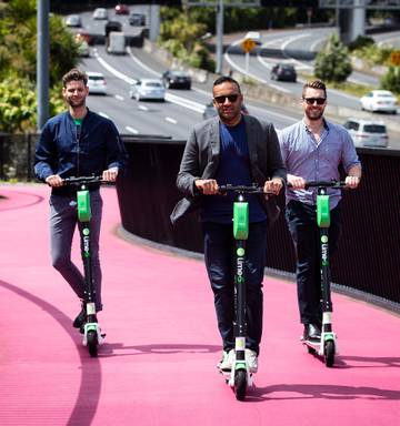 Are e-scooters NZ's transport solution? Two companies launch in