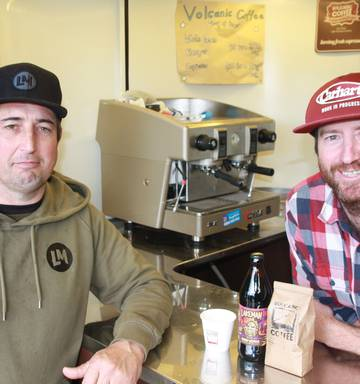 Lakeman Brewing and Volcanic Coffee collaborate on coffee