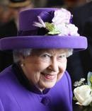Queen Elizabeth II is cutting costs this year by opting for a supermarket pudding. Photo / Getty Images