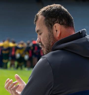 ... Wallabies coach Michael Cheika needs to retain his job to see the  Australia flagship rugby team fd9af216a6d