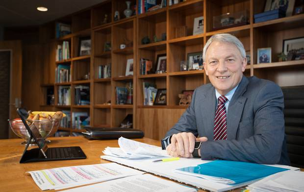 Auckland Mayor Phil Goff has blasted the tourists. Photo / Greg Bowker