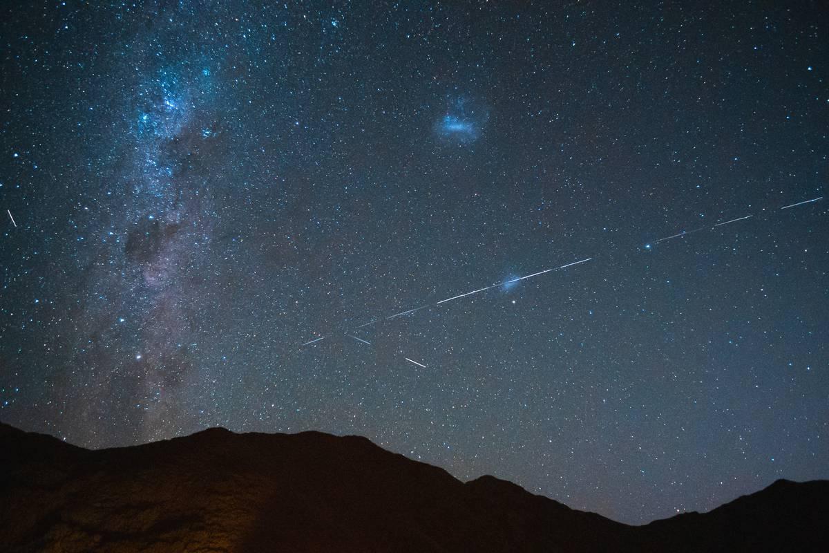 SpaceX: Elon Musk's Starlink spotted in NZ night skies