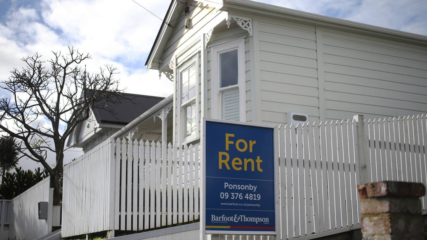 Most New Zealanders surveyed said rental prices were too high. Photo / Doug Sherring