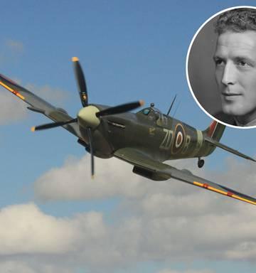 The Kiwi RAF pilot killed by unexplained World War II