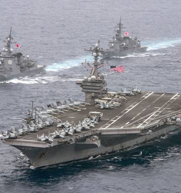 Sink two aircraft carriers': Chinese Admiral's chilling recipe to