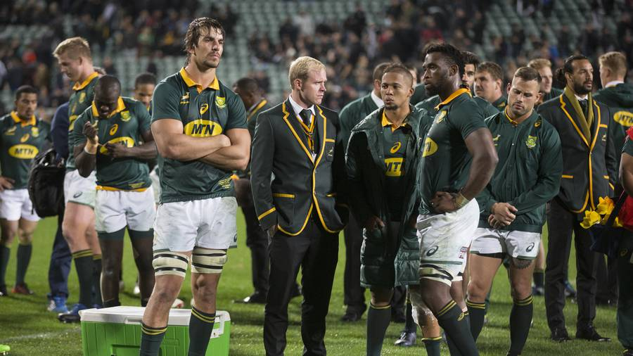 Record loss doesn't define Springboks: Coetzee