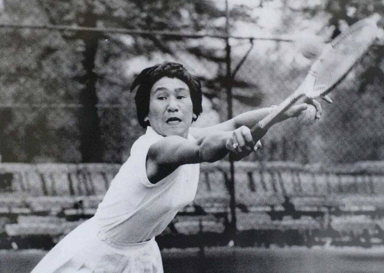 Wimbledon tennis player and new Dame Ruia Morrison. Photo / Andrew Warner