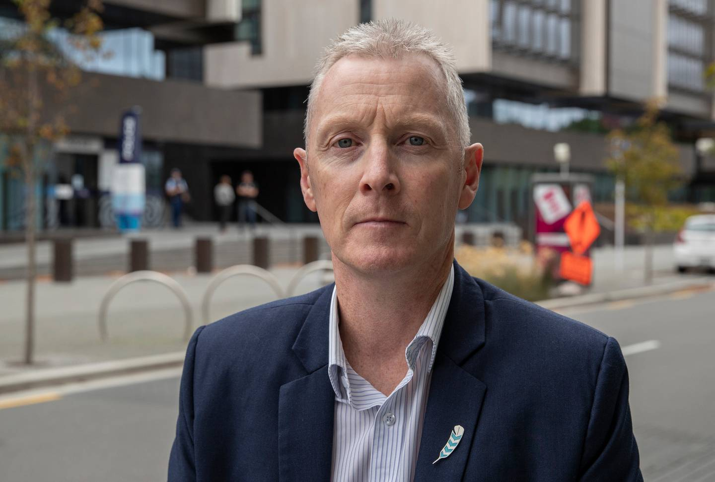 Police Association president Chris Cahill says officers can be overwhelmed by the number of family harm callouts. Photo / Mark Mitchell