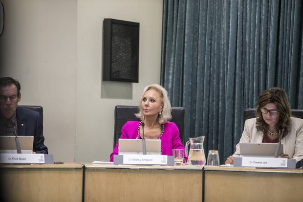 Orakei councillor Desley Simpson.