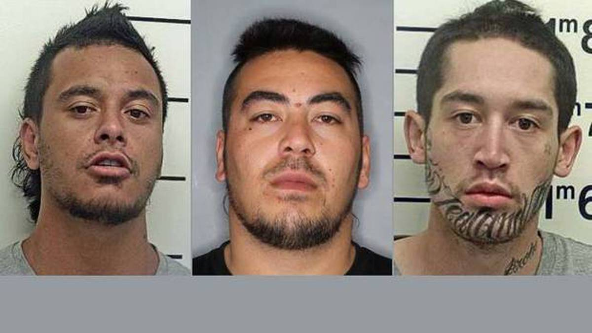 One of four fugitives who escaped police custody caught