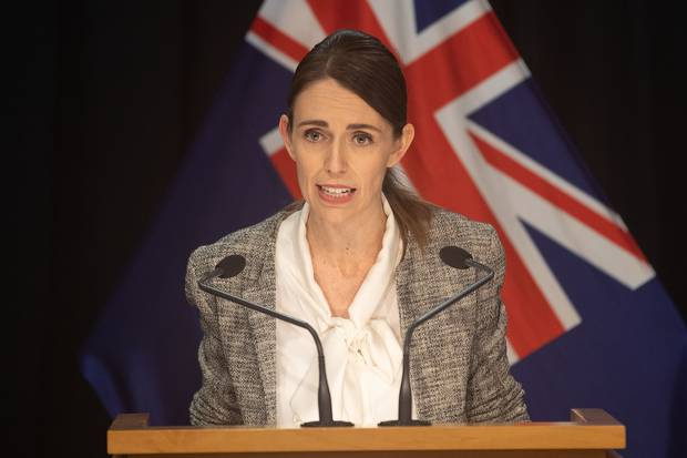 Prime Minister Jacinda Ardern has charged the military with taking over responsibility for the border facilities. Photo / Marty Melville