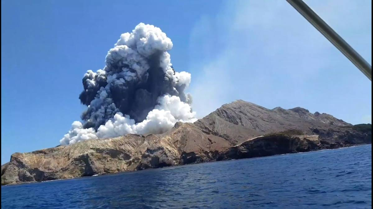 Chilling video from day of eruption released