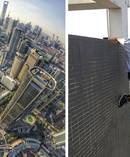 The former movie stuntman was well known for fearlessly scaling towering skyscrapers without safety equipment. Photo / QQ / Weibo