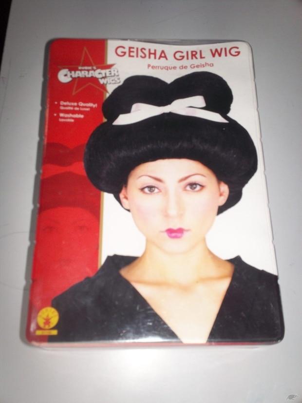 Geisha wig. Photo / Trade Me
