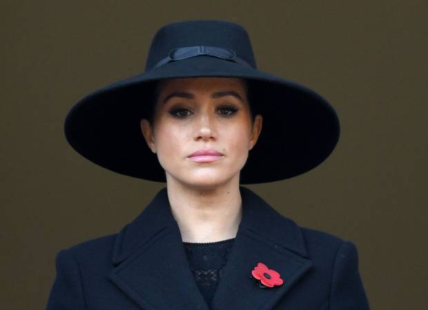 Meghan, Duchess of Sussex also attended the annual Remembrance Sunday memorial. Photo / Getty Images