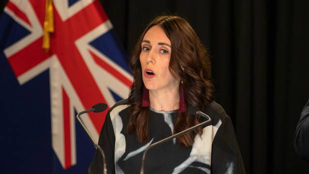 Prime Minister Jacinda Ardern is not commenting on the case of Red Cross nurse Louisa Akavi, but has thanked NZ media for not naming her before today. Photo / Mark Mitchell