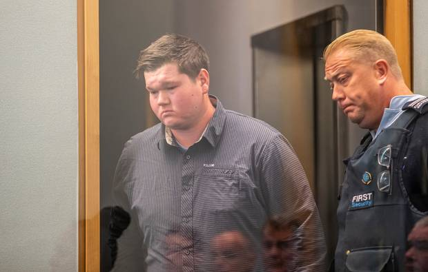 Fraser Milne will be sentenced in July for his racially-motivated attack. Photo / Peter Meecham